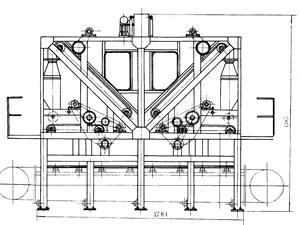 机械铺装机