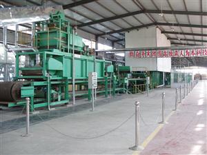 麦秸秆中密度板生产线